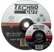 Gr.disks 230*1,8*22.2 met/ner TechnoCut