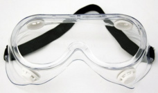 Aizsargbrilles pilnībā aizsegtas