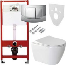 TECEula rāmis ar WC un s/c vāku komplektā