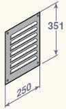 Šahtas ventilācijas reste (ārējā), DY35