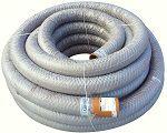 PVC dren.caur. 58/50 ar ģeotekstila filtru (50m)