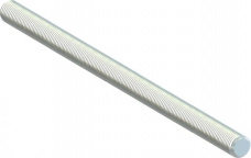 Stienis ar metrisko vītni 8mm x 1m