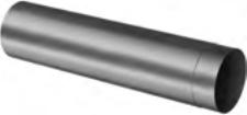 PP Caurule skurst. D80 500mm ar uzm. MELNA UV*