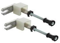 Geberit Iebūvējamā rāmja stiprinājumi Duofix, 130-200 mm ##