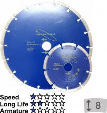 Griešanas disks dimanta Galactica 125x10x22,2