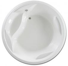PAA Vanna Rondo, 1900x1900 mm, ar rāmi, balta akrila