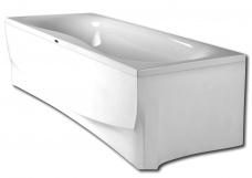 PAA Vanna Prelude, 1800x800 mm, ar rāmi, balta akrila