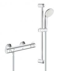 Grohe Dušas termostats Grohetherm 800 ar dušas komplektu 600 mm, hroms