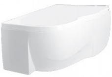 PAA Vanna Mambo, 1650x980 mm, ar rāmi, kreisā puse, balta akrila