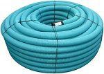 PVC drenāžas caurule 58/50 bez filtra(50m)
