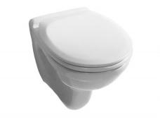Jika Pods Dino Rimless, 355x530 mm, stiprināms pie sienas, balts